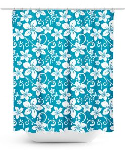 Aloha Shirt Pattern Shower Curtain
