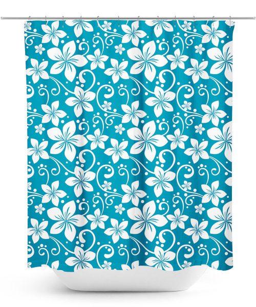 Aloha Shirt Pattern Shower Curtain