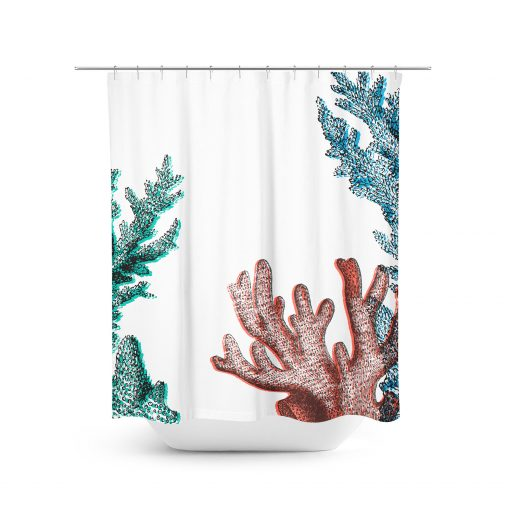 Coral Reef Graphic Shower Curtain