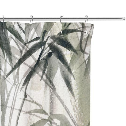 bamboo watercolor close up image