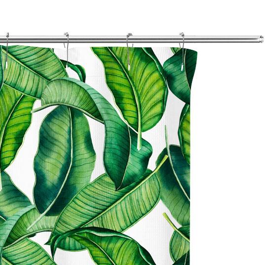Falling Palm Fronds Pattern close up image