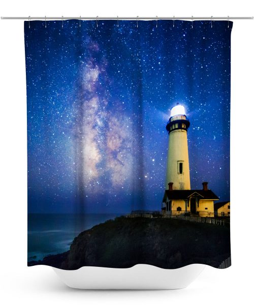 Lighthouse Photo Shower Curtain