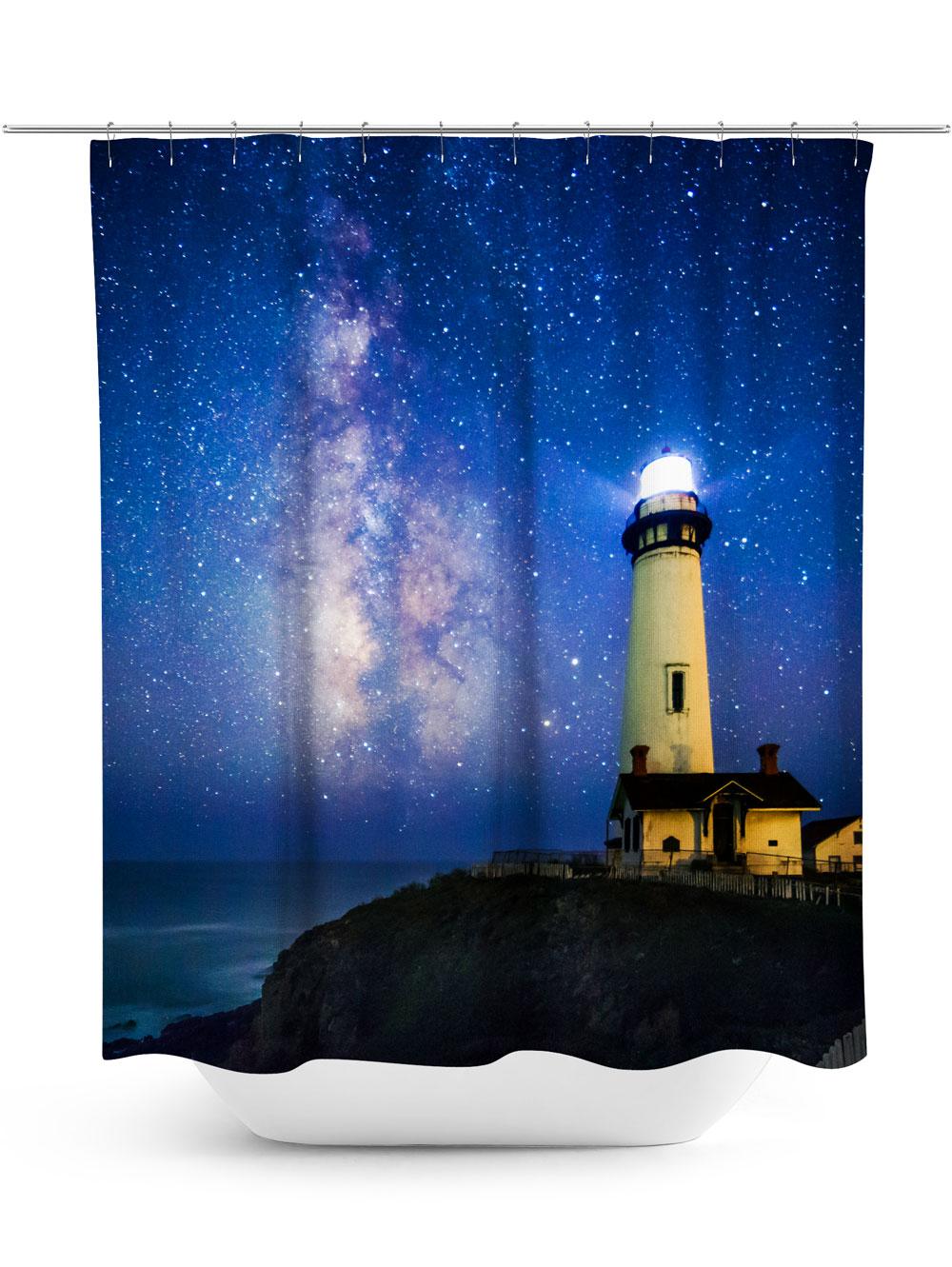 Lighthouse Photo Shower Curtain