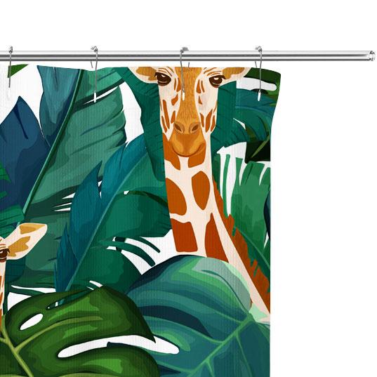 giraffe pattern close up image