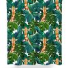 Giraffe Pattern Shower Curtain